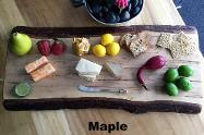 Maple Charcuterie Boards