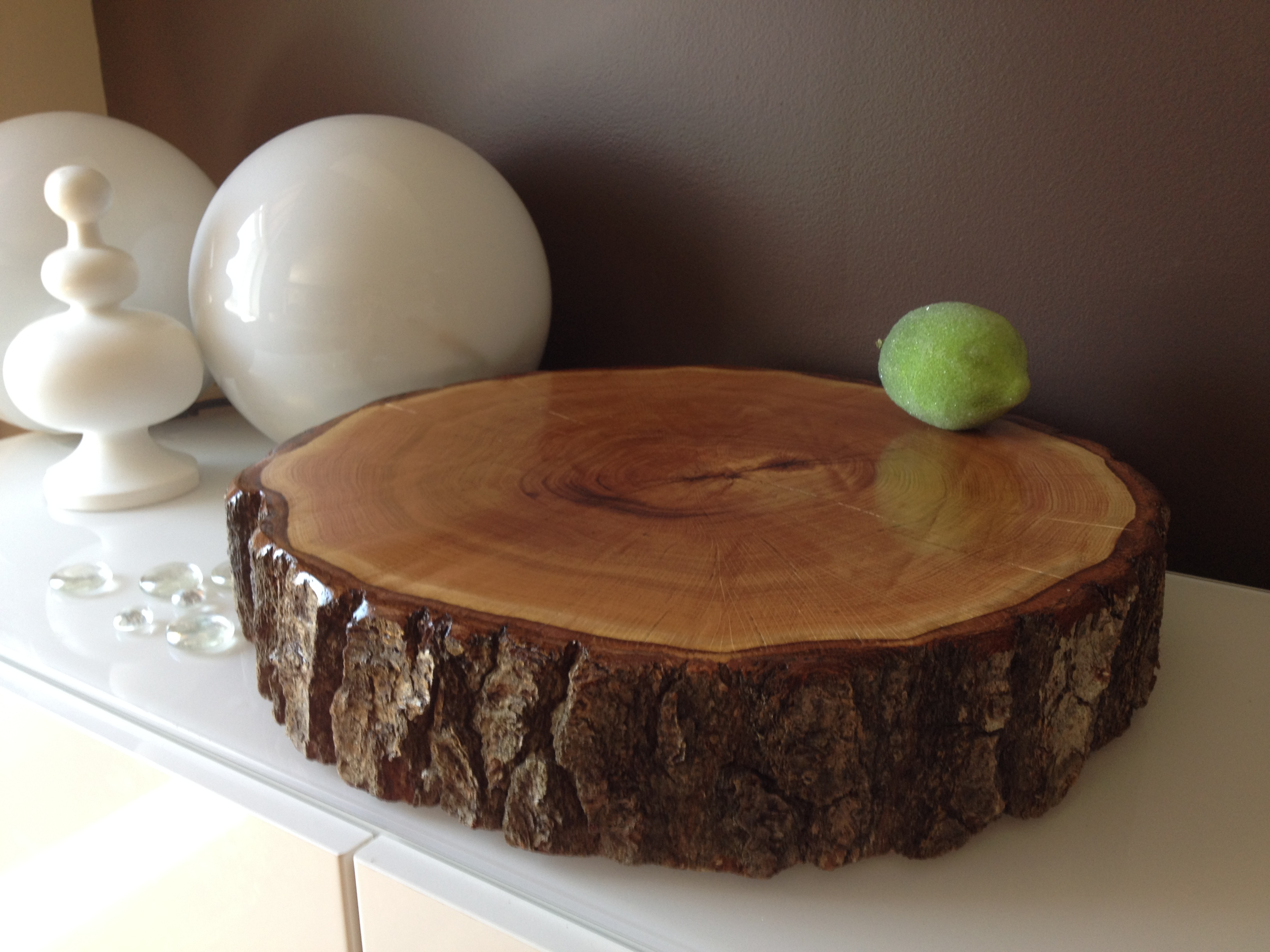 Wood Slice Wedding Cake Stands Wood RoundsStump Cake Stand